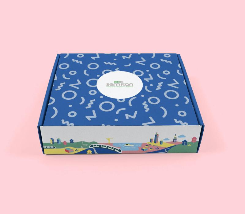 Packaging Box cadeau Tan